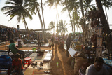 Wednesday Flea Market in Anjuna  Goa  India  Asia