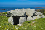 Le Trepid Dolmen  Guernsey  Channel Islands  United Kingdom