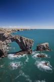 Green Bridge of Wales  Pembrokeshire Coast  Wales  United Kingdom