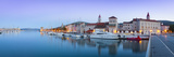 Trogir's Historic Stari Grad (Old Town) Defensive Walls and Harbour  Trogir  Dalmatia  Croatia