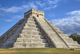 El Castillo (Pyramid of Kulkulcan)  Chichen Itza  Yucatan  Mexico  North America