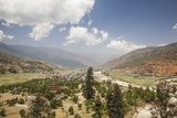 The Paro Valley Extends Westward Closer to the Peaks That Rise on the Tibetan Border