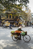 Street Scene in the Old Quarter  Hanoi  Vietnam  Indochina  Southeast Asia  Asia