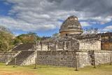 El Caracol (The Snail)  Observatory  Chichen Itza  Yucatan  Mexico  North America