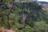 Manchewe Falls Near Livingstonia  Malawi  Africa