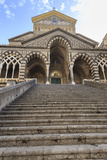 Cathedral and Steps with No People  Amalfi  Costiera Amalfitana (Amalfi Coast)  Campania  Italy