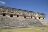 Palace of the Governor  Uxmal  Mayan Archaeological Site  Yucatan  Mexico  North America
