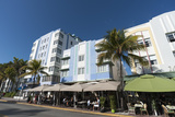 Ocean Drive  South Beach  Miami Beach  Florida  United States of America  North America