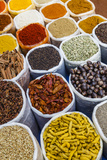 Spice Shop at the Wednesday Flea Market in Anjuna  Goa  India  Asia