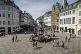 Stroget  the Main Pedestrian Shopping Street  Copenhagen  Denmark  Scandinavia  Europe