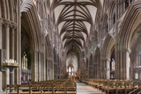 Nave Looking East  Lichfield Cathedral  Staffordshire  England  United Kingdom