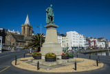 Prince Albert Statue  Saint Peter Port  Guernsey  Channel Islands  United Kingdom