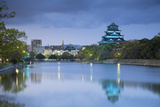 Hiroshima Castle at Dusk  Hiroshima  Hiroshima Prefecture  Japan