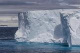 Tabular Iceberg in the Gerlache Strait  Antarctica  Polar Regions