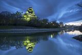 Okayama Castle at Dusk  Okayama  Okayama Prefecture  Japan