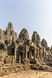 Four-Faced Towers in Prasat Bayon  Angkor Thom  Angkor  UNESCO World Heritage Site  Cambodia