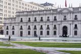 Presidential Palace  La Moneda  Santiago  Chile
