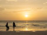 White Beach  Boracay  the Visayas  Philippines  Southeast Asia  Asia