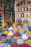 Herbs and Spices for Sale in Souk  Medina  Marrakesh  Morocco  North Africa  Africa