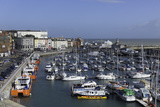 View of the Royal Harbour and Marina at Ramsgate  Kent  England  United Kingdom