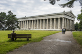 Neo-Classical Walhalla Hall of Fame on the Danube Bavaria  Germany