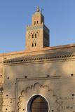 Minaret of Koutoubia Mosque  UNESCO World Heritage Site  Marrakesh  Morocco  North Africa  Africa