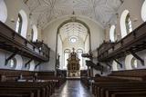 Interior of the Church of the Holy Trinity  Regensburg  Bavaria  Germany