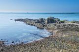 View over Fort Clonque  Alderney  Channel Islands  United Kingdom
