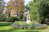Statue in the Luxembourg Gardens  Paris  France  Europe