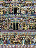 Sri Mariamman Hindu Temple  Singapore  Southeast Asia  Asia