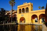 Fuente De Mercurio  Real Alcazar  Seville  Andalucia  Spain