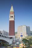 Venetian Hotel  Taipa  Macau  China  Asia