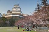 Himeji Castle  Himeji  Kansai  Honshu  Japan