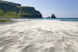 View across the Black and White Sands of Talisker Bay