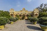 Garden Entrance to the Vinh Trang Pagoda  My Tho  Vietnam  Indochina  Southeast Asia  Asia