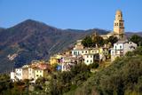 Legnaro Village  Near Monterosso  Cinque Terre  Liguria  Italy  Europe
