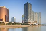Wynn Hotel and One Central Complex  Macau  China  Asia
