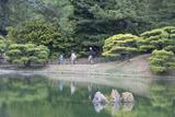 People at Ritsurin-Koen  Takamatsu  Shikoku  Japan