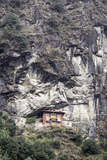An Old Religious Building Built into the Side of a Cliff in the Sagarmatha National Park