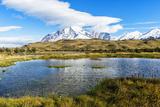 Cuernos Del Paine  Torres Del Paine National Park  Chilean Patagonia  Chile