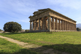 Temple of Neptune  450 Bc  Largest and Best Preserved Greek Temple at Paestum  Campania  Italy