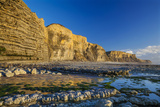 Dunraven Bay  Southerdown  Vale of Glamorgan  Wales  United Kingdom  Europe