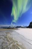 Northern Lights (Aurora Borealis) on Gymsoyan Sky