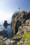 View to the Clifftop Lighthouse at Neist Point