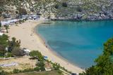 Pallas Beach in Lindos  Rhodes  Dodecanese Islands  Greek Islands  Greece  Europe