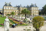 Luxembourg Palace and Gardens  Paris  France  Europe
