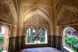 Mirador De Daraxa O Lindaraja  Palacio De Los Leones  the Alhambra  Granada  Andalucia  Spain