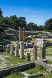 Ruins of Ancient Kameiros  Kalavarda  Rhodes  Dodecanese Islands  Greek Islands  Greece