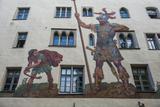 Goliath House  Regensburg  Bavaria  Germany