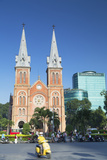 Notre Dame Cathedral  Ho Chi Minh City  Vietnam  Indochina  Southeast Asia  Asia